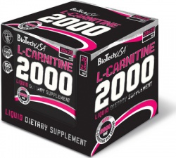BioTechUSA L-Carnitine ampule 2000 mg 1 x 25 ml