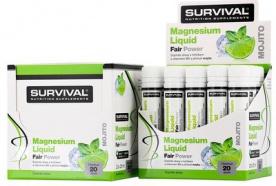 Survival Magnesium Liquid Fair Power® PREŠLA DMT