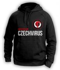 Czech Virus Mikina Unisex čierna