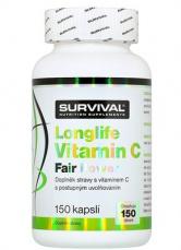 Survival Longlife Vitamin C Fair Power 150 kapsúl