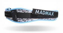 MAD MAX Dámsky fitness opasok WMN - SWAROVSKI MFB314 modrá