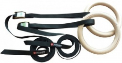 Power System Gymnastické kruhy Gymnastic Wooden Rings