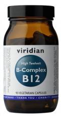 Viridian B-Complex B12 High Twelwe® 90 kapsúl