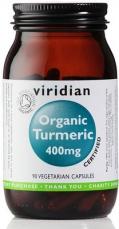 Viridian Turmeric 400mg Organic 90 kapsúl