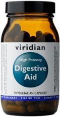 Viridian High Potency Digestive Aid 90 kapsúl