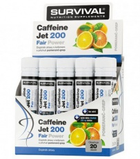 Survival Caffeine Jet 200 Fair Power® 20 x 25 ml EXPIROVANÉ DMT