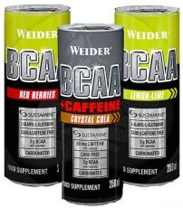 Weider BCAA + caffeine 250 ml