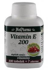 MedPharma Vitamín E 200 107 kapsúl