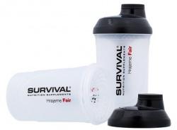 Survival Šejkr transparentní so zásobníkmi