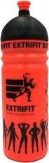Extrifit Športová fľaša bidon 750 ml - oranžová