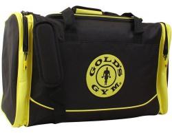 Gold's Gym športová taška - čierno/žltá