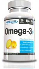 PEScience Omega 3+ 120 kapsúl