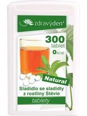 Zdravý den Stevia tabliety 300 tabliet 18g