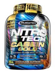 MuscleTech Nitro-Tech Casein Gold 2280 g