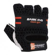 Power System rukavice BASIC EVO červené