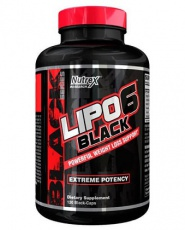 Nutrex Lipo 6 Black Weight Loss Support 120 kapsúl