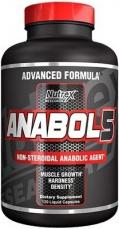 Nutrex Anabol 5 Black 120 kapsúl