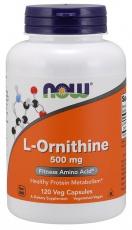 Now Foods L-Ornithine 500 mg 120 kapsúl