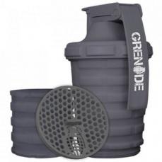 Grenade Šejkr 600 ml s dávkovačem - šedý