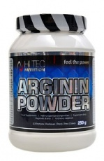 Hitec Nutrition Arginin powder 100% AAKG 250 g