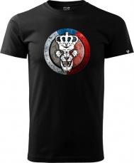 Tričko Team Tkadlčík čierne
