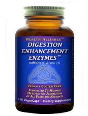 Sunwarrior Digestion Enhancement Enzymes 120 kapsúl