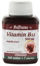 MedPharma Vitamín B12 500 µg 107 tabliet