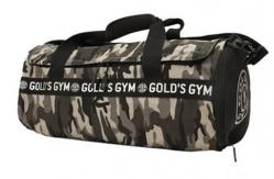 Gold's Gym Barrel Bag športová taška - maskáčová