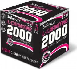 BioTechUSA L-Carnitine ampule 2000 mg 20 x 25 ml
