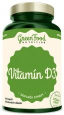 GreenFood Vitamin D3 60 kapsúl