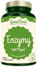 GreenFood Enzymy Opti7 Digest 90 kapsúl