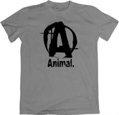 Universal Animal Pánske tričko šedé