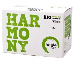 Matcha Tea Bio Harmony zelený čaj matcha 30x2g