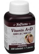 MedPharma Vitamin A+D 107 tobolek