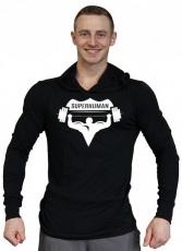 Titánus Tričko s kapucňou Super Human velké logo