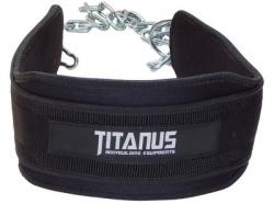 Titánus pás s dopomocou s reťazou - Dip Belt