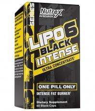 Nutrex Lipo 6 Black Intense Ultra Concentrate 60 kapsúl