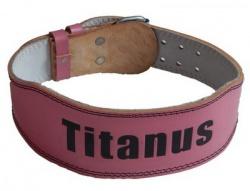 Titánus fitness dámsky kožený opasok