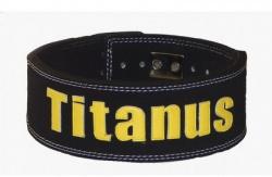 Titánus fitness opasok s pákovou prackou 10/8 čierny