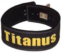Titánus fitness opasok s pákovou prackou čierny