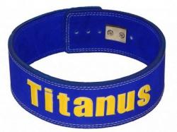 Titánus fitness opasok s pákovou prackou modrý