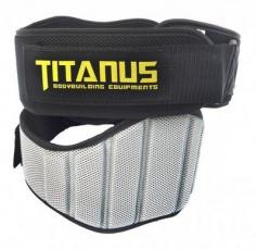 Titánus Fitness opasok nylonový čierny
