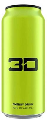 3D Energy drinks 473ml