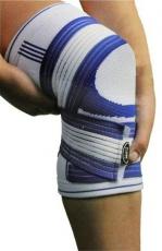 Power System Bandáž na koleno Knee Support Pro biela