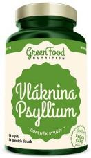 GreenFood Vláknina Psyllium 96 kapsúl