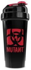 Mutant Nation Šejkr Cup 700ml - čierno/červený