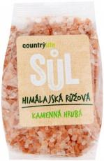 Country Life Himalájská soľ ružová hrubá 500g