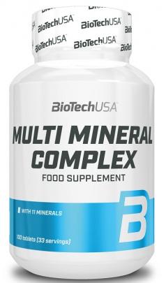 BioTechUSA Multi Mineral Complex 100 tabliet