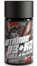 Big Zone Vitamin D3 + K2 + Magnesium 90 tabliet