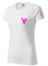 Fitness007 Dámske tričko biele #jdudosebe